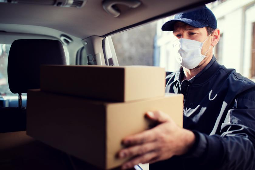 delivery durante a pandemia